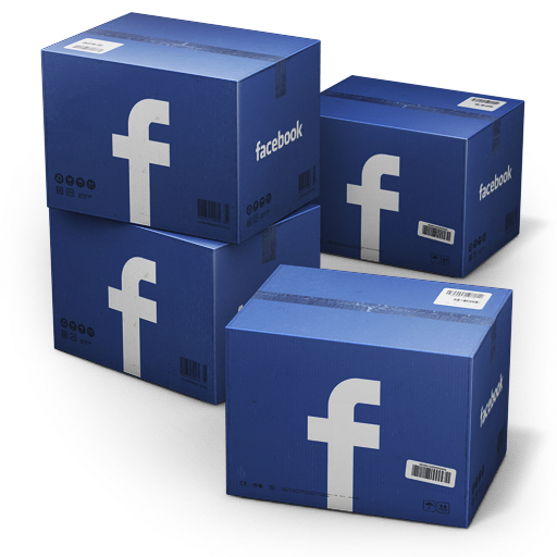 Facebook box knapp